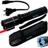 Linterna Táctica Led Laser Taser Tabano Recargable Paralizador