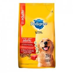 Comida Concentrado Perro Pedigree Etapa 3 Bulto 25 K Para Razas Medianas y/o Grandes