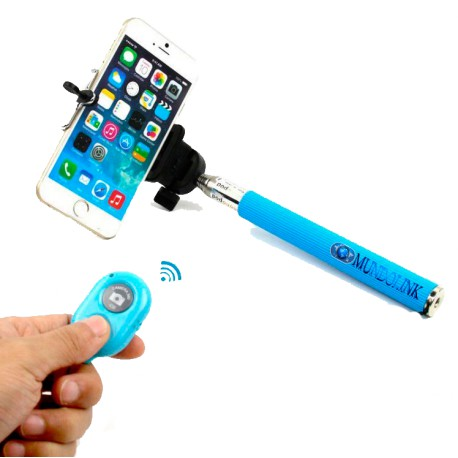 Monopod Bluetooth Selfie Soporte Palo Celular Camara Android