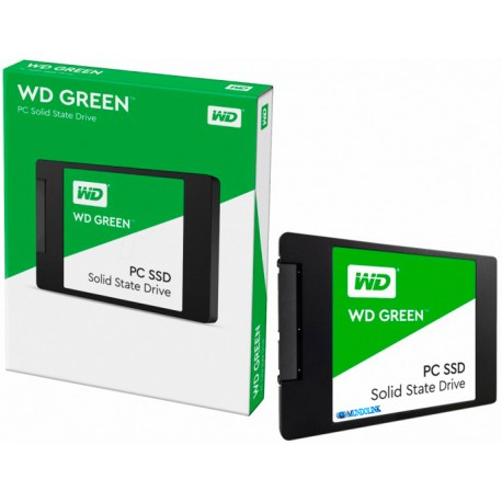 Disco Duro Estado Solido Wd Green Pc Ssd 120 Gb Sata Portatil