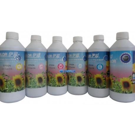 Tinta Ecolor Litro Epson impresora inyección ciss sistema continuo