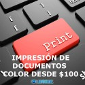 Impresiones color digital por demanda