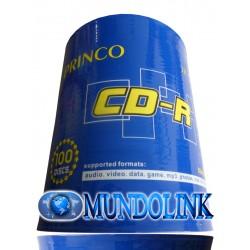 Cd Imprimible virgen Princo Caja 600 Unidades 52X 700 Mb Para Impresión