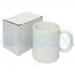 1 Mugs Blanco Sublimación 11 Onzas Caja Individual Aaa Pocillo
