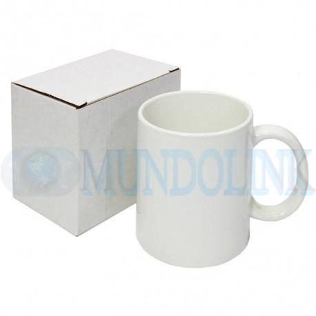2 Mugs Blancos Sublimación 11 Onzas Caja Individual Aaa Pocillo