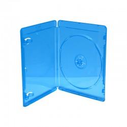 Estuche Plástico Blu Ray Cd Dvd Azul Grueso 50 Unidades Peliculas