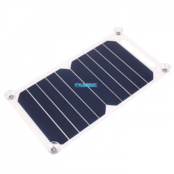Cargador Panel Solar Usb Celular Power Bank Portatil Tablet