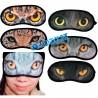 Antifaz Dormir Sueño Suave Ojos Animales Mascara Viajar Descanso