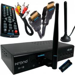 Tdt Receptor Televisión Digital Youtube Dvbt2 Decodificador