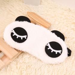 Antifaz Dormir Sueño Suave Lindo Panda Mascara Viajar Peluche