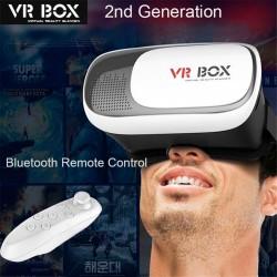 Gafas 3d Realidad Virtual Control Bluetooth Google Cardboard Android