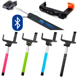 Monopod Bluetooth Selfies Soporte Palo Celular Camara Android