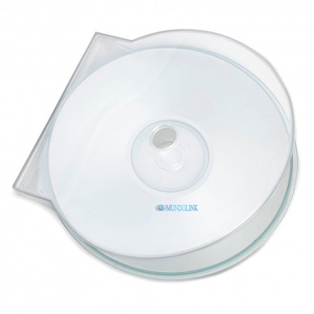 Estuche Concha Cd Dvd Blu Ray Trasparente 50 Unids Plasticos Economico