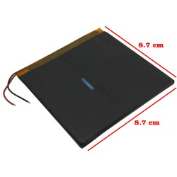 Bateria Interna Para Tablet 3.7v 4500 Mah Lithium China