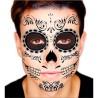 Tatuaje Temporal Hombre Catrina Halloween Dia Muertos Calavera