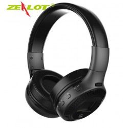 Diadema Bluetooth Mp3 Radio Fm Sd Celular Pc Lcd Auriculares Zealot B19