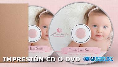 impresión cd dvd mundolink